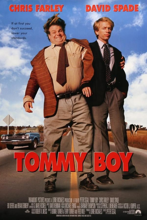 Tommy Boy (1995) | 90's Comedy Movies