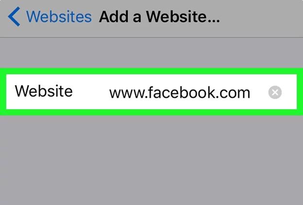 Block Facebook On iPhone