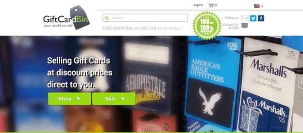 Gift Card Bin Paypal Credit for Amazon