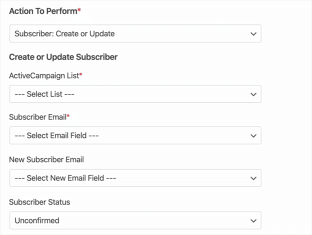 Create Call to action with email marketing