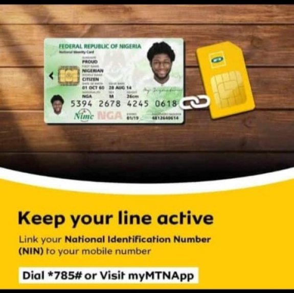 How To Link MTN Number to NIN
