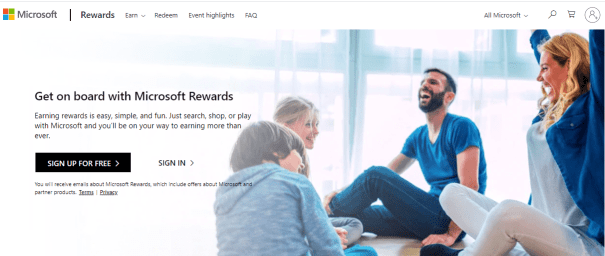 Switch to Microsoft and earn Gift cards