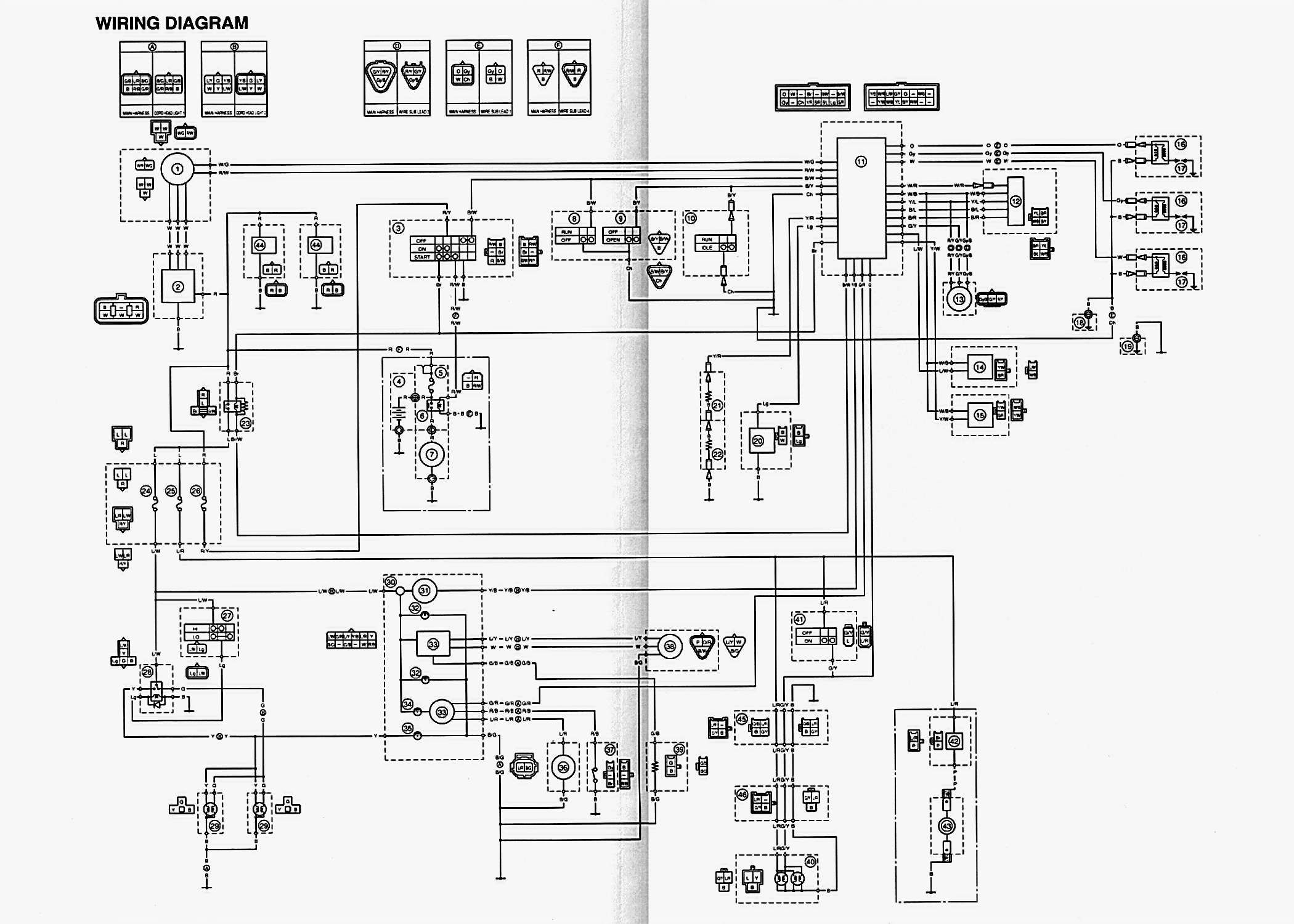 honda twister wiring diagram