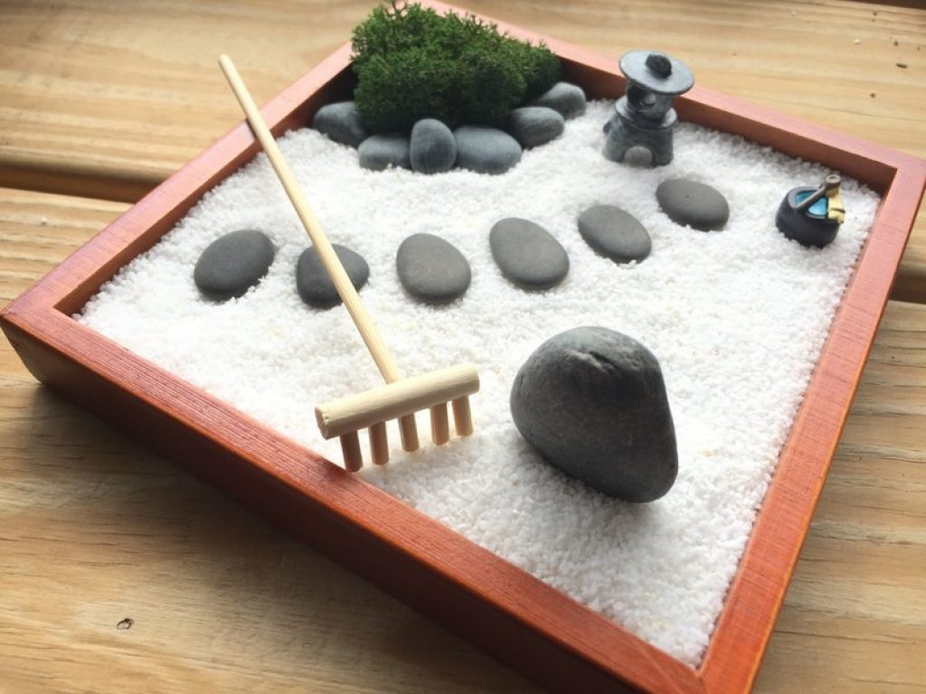 faire un jardin zen miniature