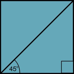 diagonal persegi