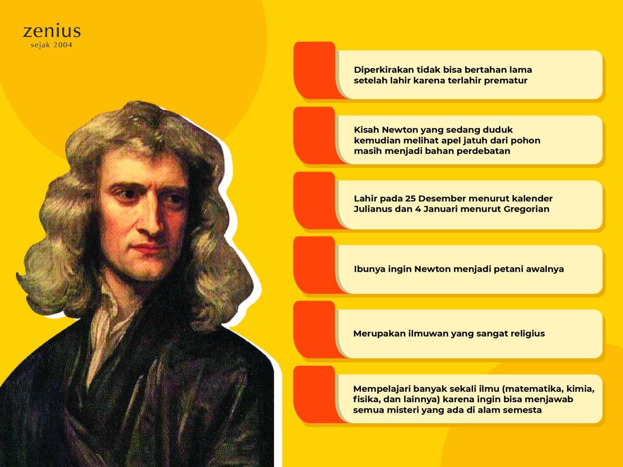 Newton, Penemu Teori Gravitasi yang Benci Konfrontasi 58