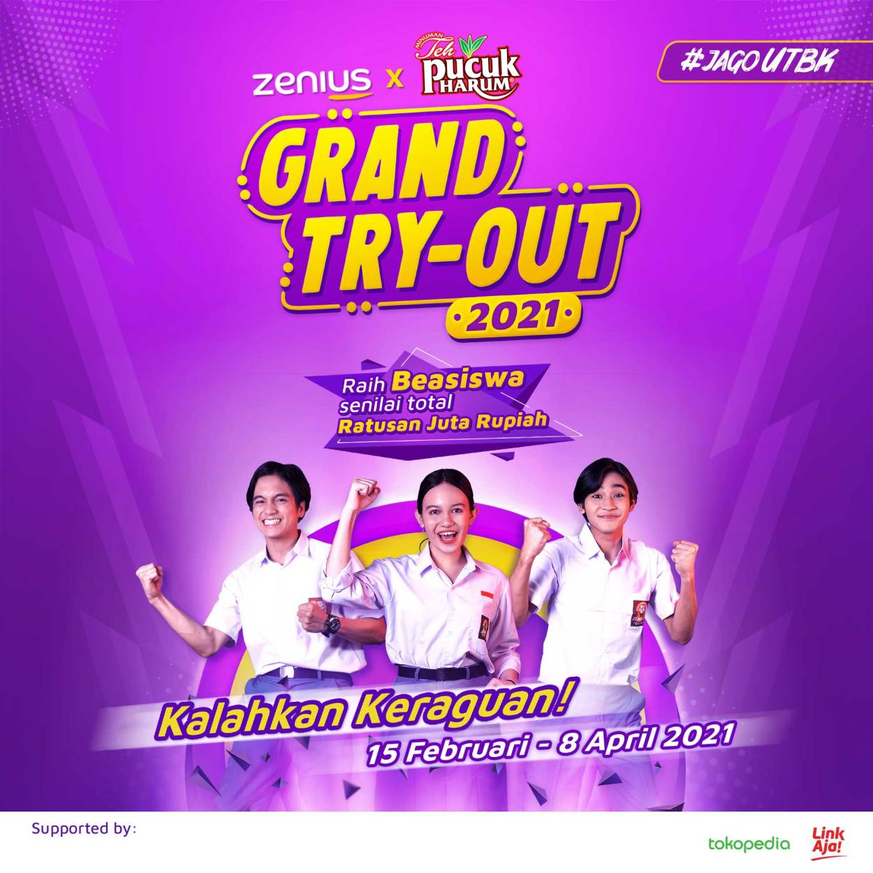 Grand Try Out (GTO) Zenius Education