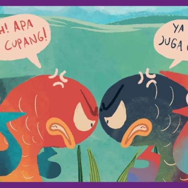 Ikan Cupang Berantem