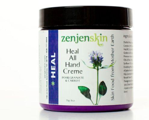 Plant based moisturizing hand cream