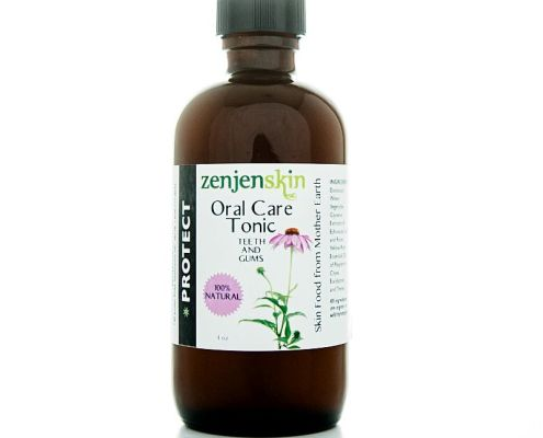 Natural oral care tonic natural mouthwash zenjenskin