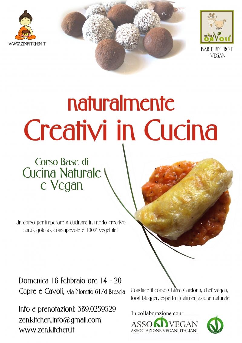 Naturalmente Creativi in Cucina corso base di Cucina