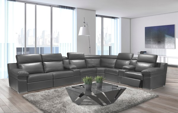modern living room with sectional sofa Ari Modern Sectional Sofa | Reclining Sectionals | Recliners | Living Room | Zenlia Home Store