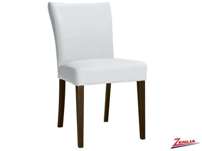 Hud  Parson Chair White  Modern Wood Dining Chairs