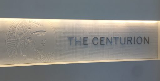 Centurion Lounge in Las Vegas airport