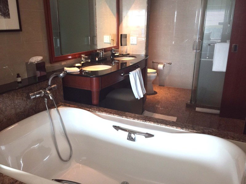 Park Hyatt Chicago Review | Guest Room Bathroom at Park Hyatt Chicago | Chicago, Illilnois | USA