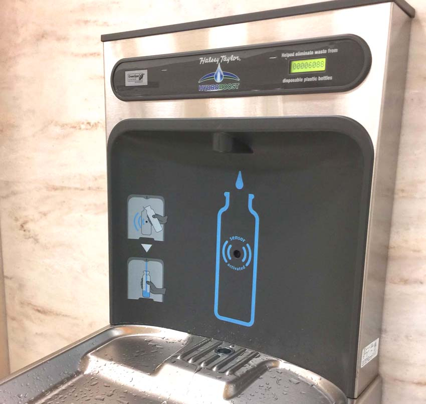 How To Stay Healthy While Traveling   7 Tips For Healthy Travel   How To Stay Healthy on Vacation   Healthy Habits To Keep You Out of the Gym On Vacation   Airport Water Bottle Filling Station