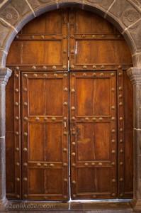 Doorway in Qurikancha, Cusco