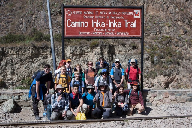 Start of the Inca Trail with Peru Treks
