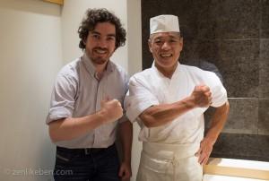 Me and Yasuda-san