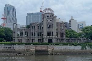 The Atom Dome in Hiroshima