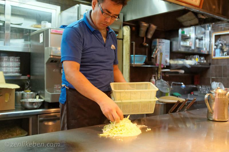 Hiroshima is known for it's Okonomiyaki. Seek it out!