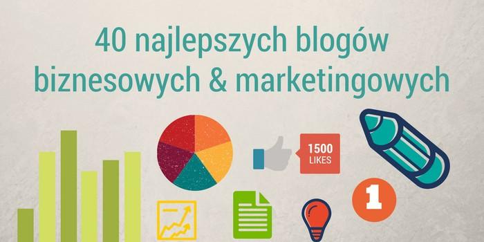 40 Najlepszych Blogów Biznesowych oraz Marketingowych