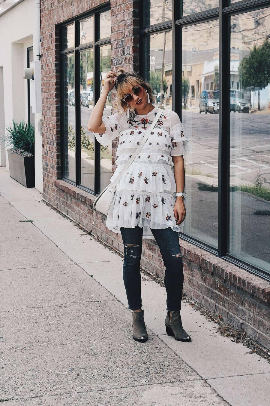 fall eyeglasses street fashion