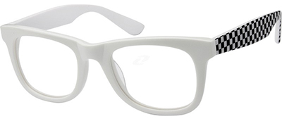 checker board glasses frames