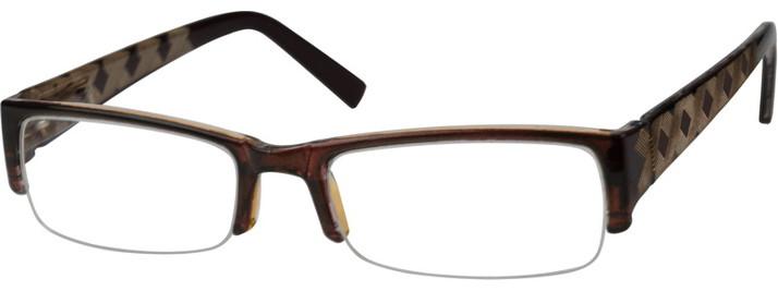 Zenni Optical Eye Glasses with invisible AR coating