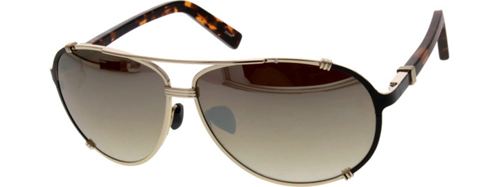 Gold mirror finish sunglasses   Zenni Optical
