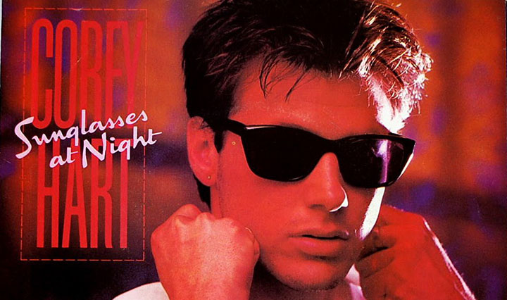 Corey Hart In Sunglasses   Zenni Optical