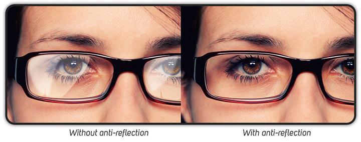 Before & After Anti Glare Glasses   Zenni Optical
