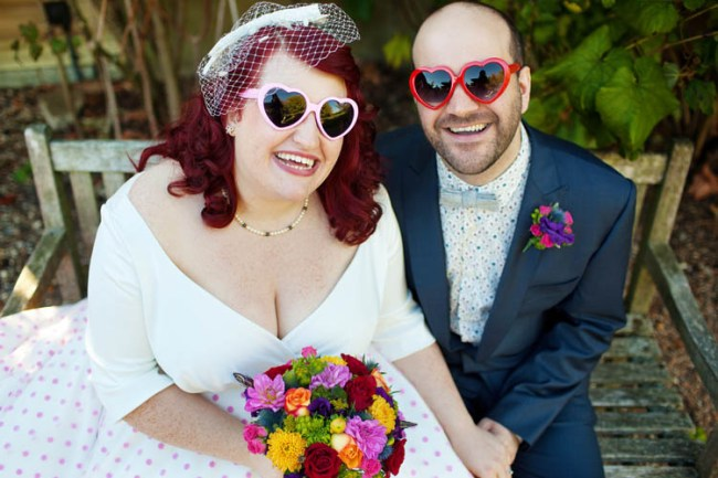 bride groom heart
