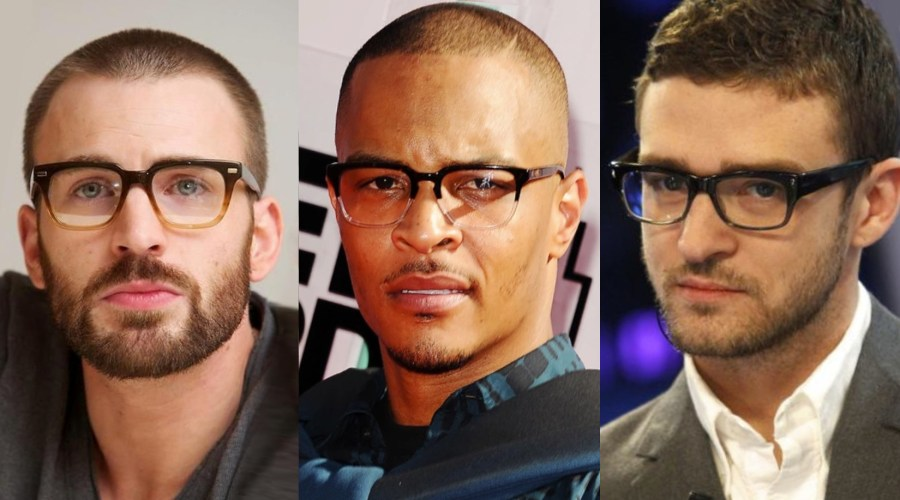 male celeb glasses