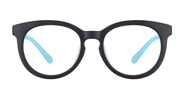 boys round black frames zenni optical