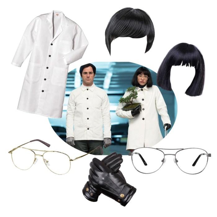 Doctors Mantleray & Dr. Fujita costumes from maniac