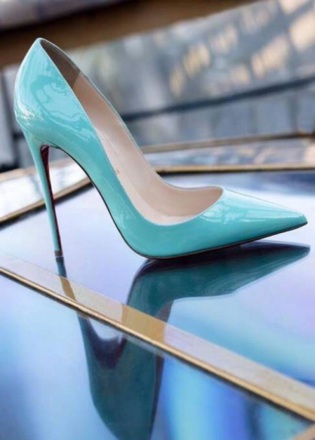 rugan renkli stiletto ayakkabı modeli