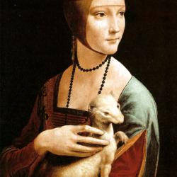 La Dama con l'ermellino: Leonardo da Vinci e l'invisibile agli occhi.