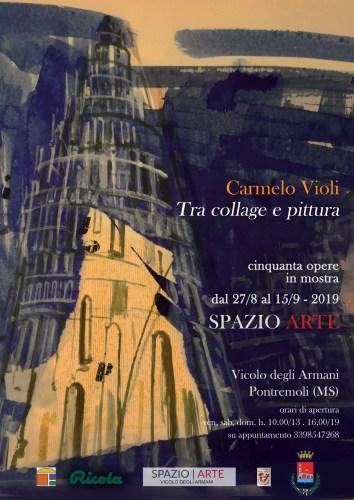 """Carmelo Violi """"Tra collage e pittura"""""""
