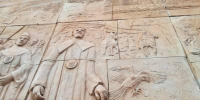 """Il sentiero delle chiese bizantine – Scultori Violi – Il ritorno alla """"Scultura Monumentale"""""""