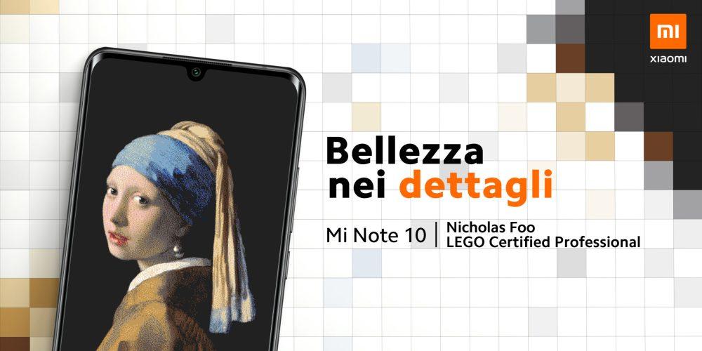 Xiaomi Mi Note 10: la bellezza è nei dettagli  - Fino al 23 febbraio, presso il Mi Store di Arese, sarà possibile ammirare l'incredibile opera d'arte LEGO firmata Nicholas Foo che sta facendo il giro d'Europa