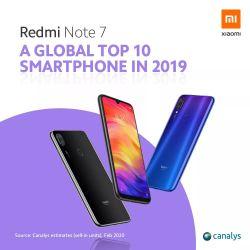 Redmi Note 7 e Redmi Note 8 si confermano  nuovamente best buy, secondo Canalys