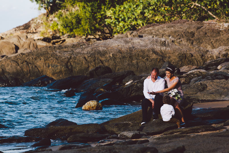 trinity beach wedding photography
