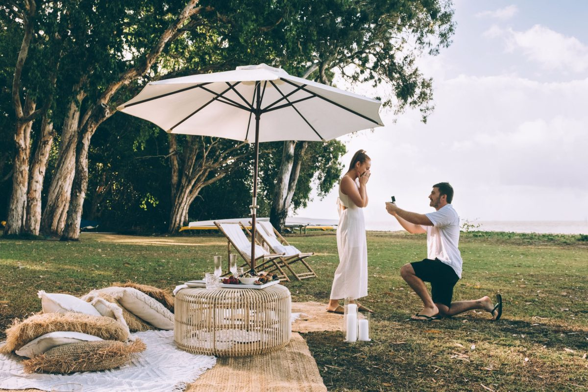 palm cove proposal photography