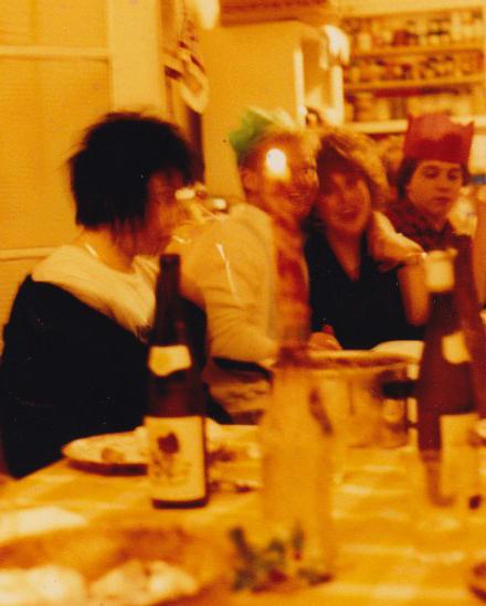 Halloween Pot Luck Party, Manchester 1985