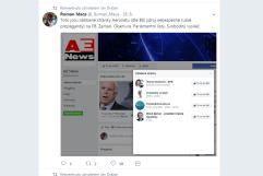 Máca nás označil za proruský web