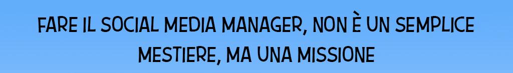 diventare social media manager