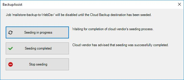 Off-site Backup to a NAS Device Using BackupAssist (Synology Example