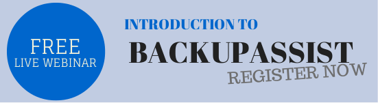 BackupAsssist webinar sign-up