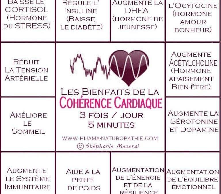 Les effets d'une pratique régulière de cohérence cardiaque